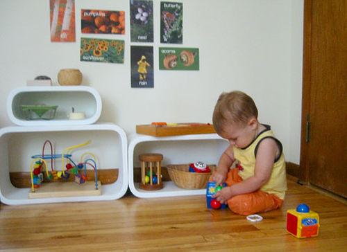 Montessori bedroom 1