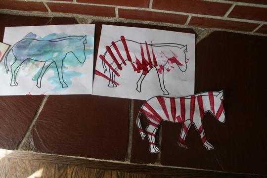 Zebra art 2
