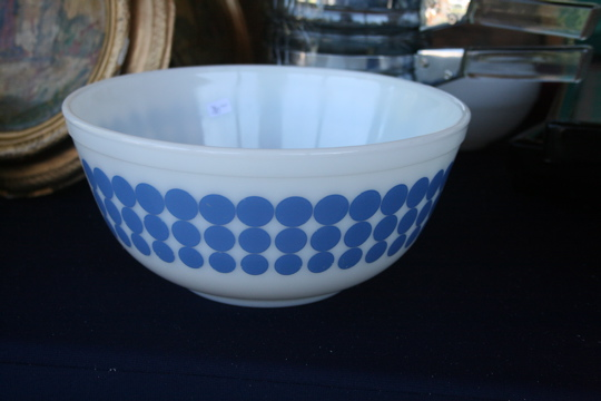 Two women bowl