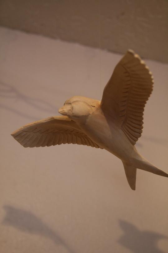 Mockingbird bird mobile