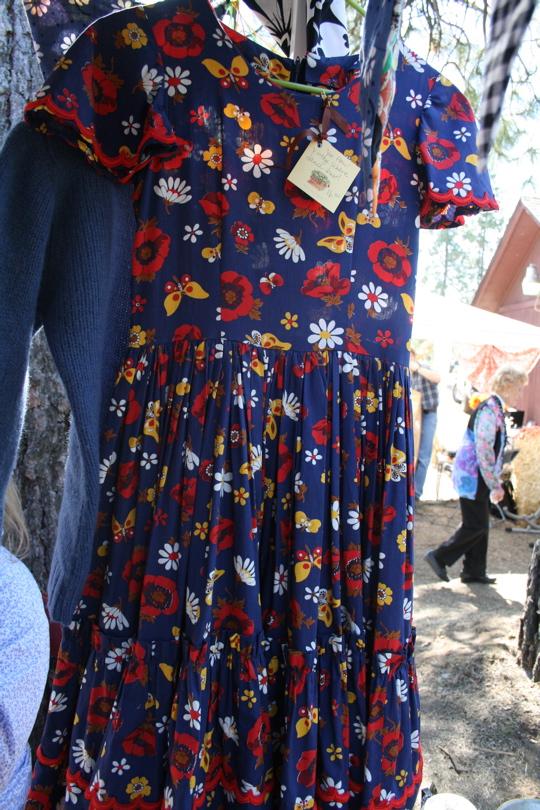 Two women dress
