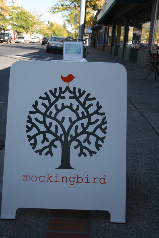 Mockingbird sign