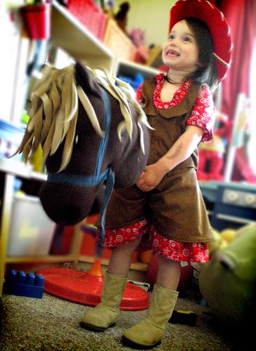 Grosgrain cowgirl