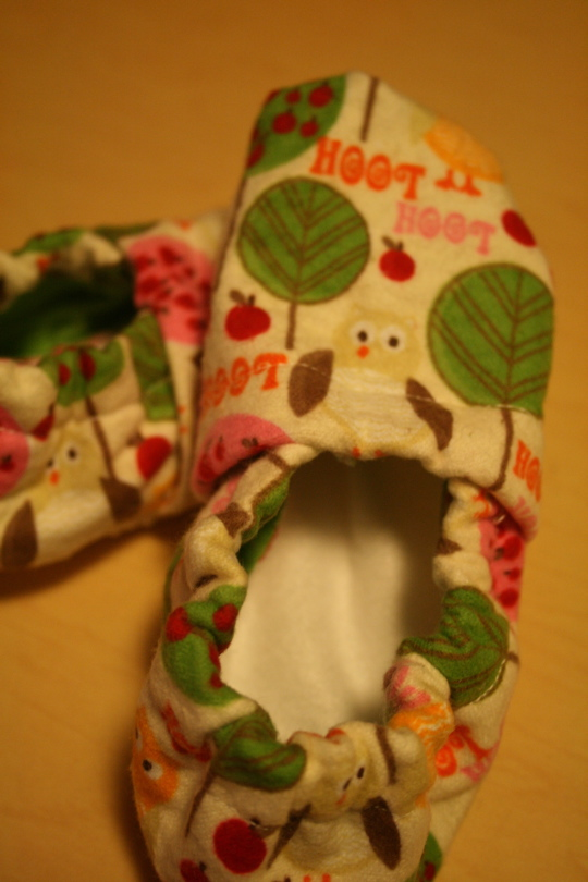 Slippers owl 2