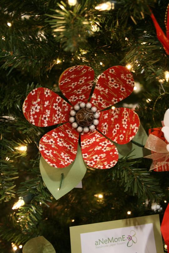 Paper tree ornaments2