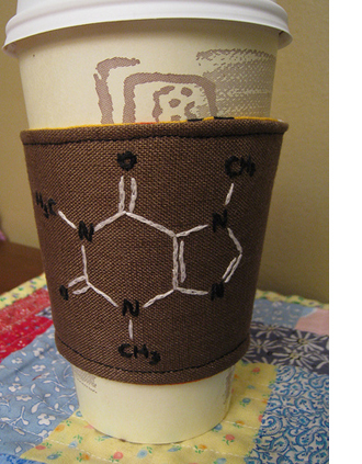 Molecular coffee cozy