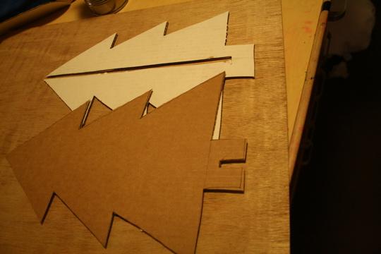 Cardboard tree 2