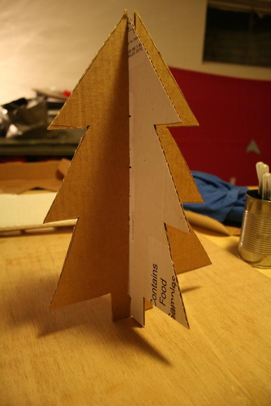 Cardboard tree 3