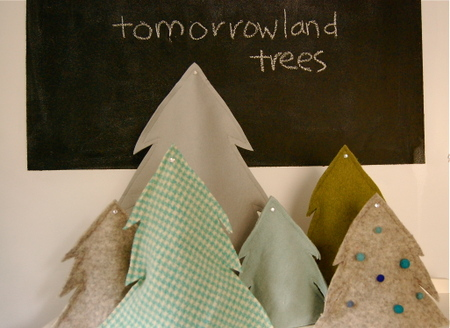 Felt trees