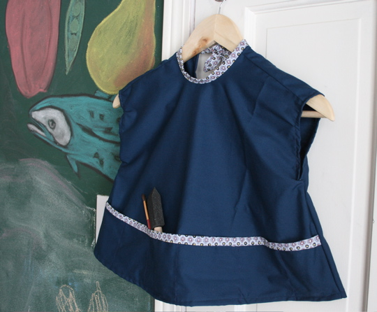 Smock front
