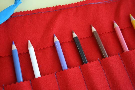 Pencil roll 3