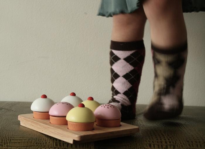 Cupcakes feet
