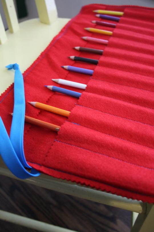 Pencil roll 4