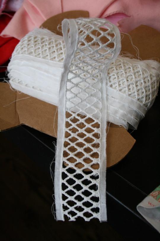 Fabric ribbon