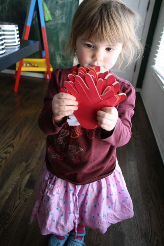 Val card red