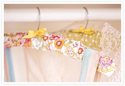 Covered hanger