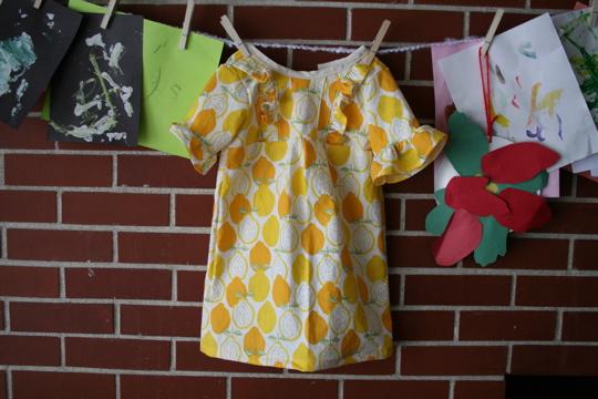 Lemon dress whole
