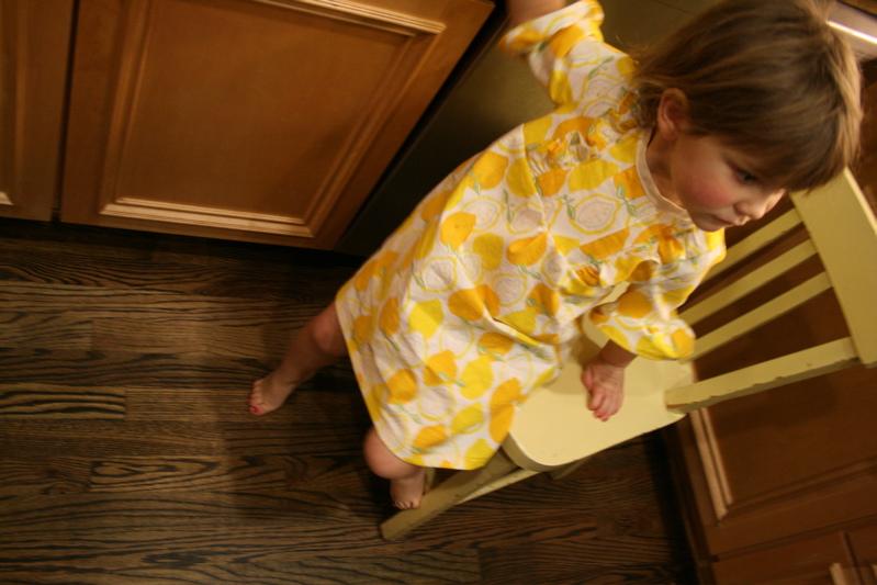 Lemon dress wear3