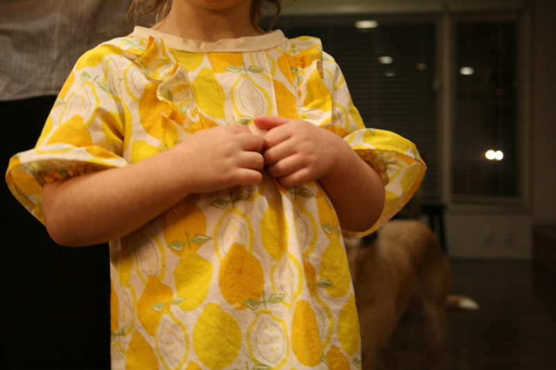 Lemon dress wear6