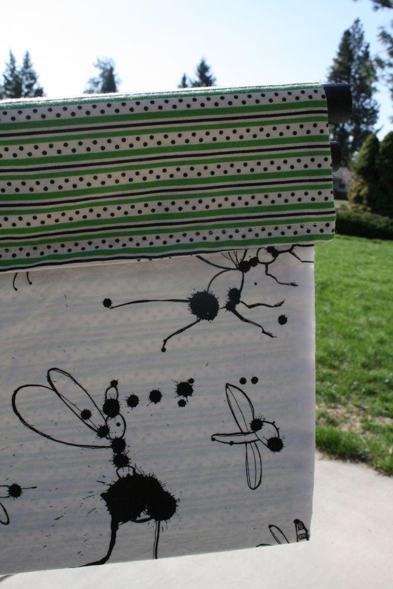 Ink blot book sling