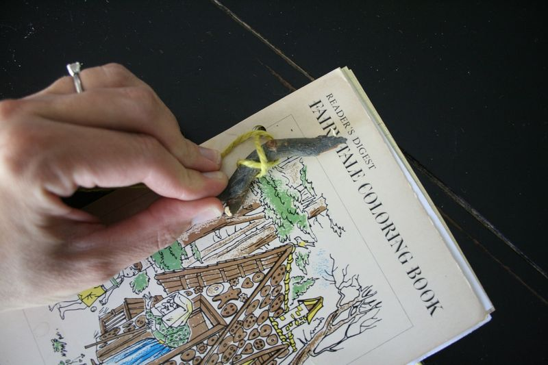 Stick book E