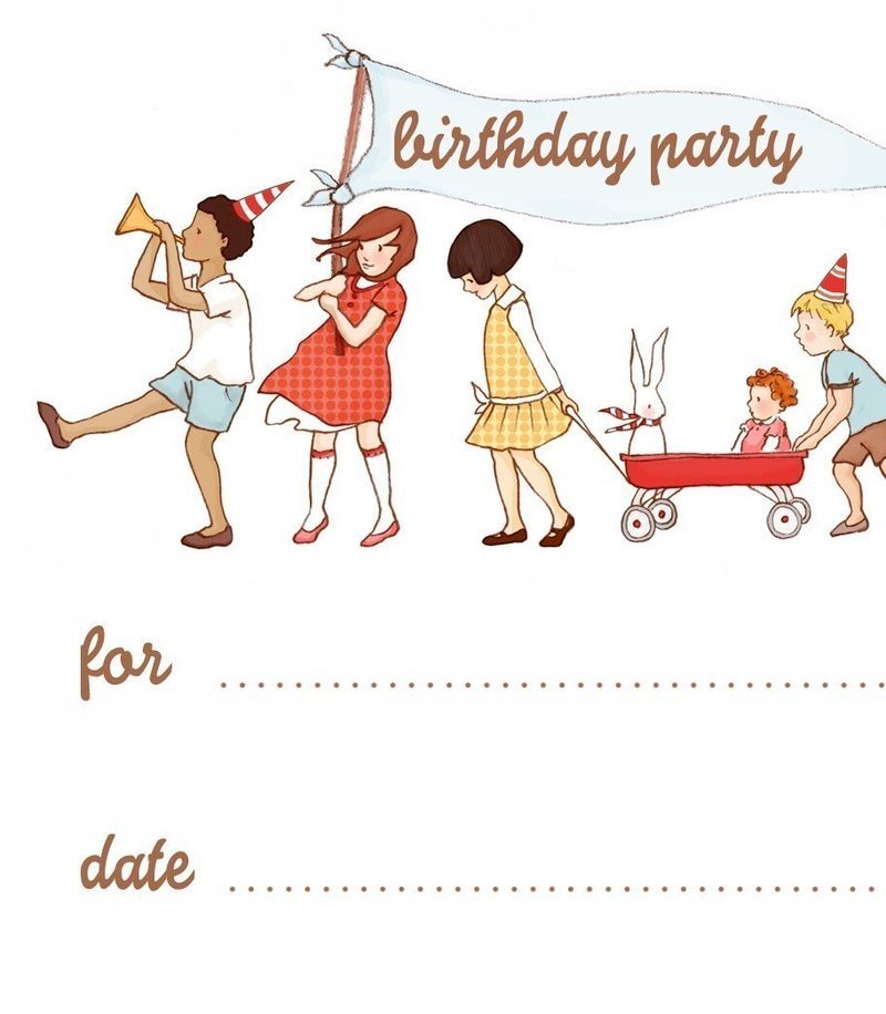 Parade invitation