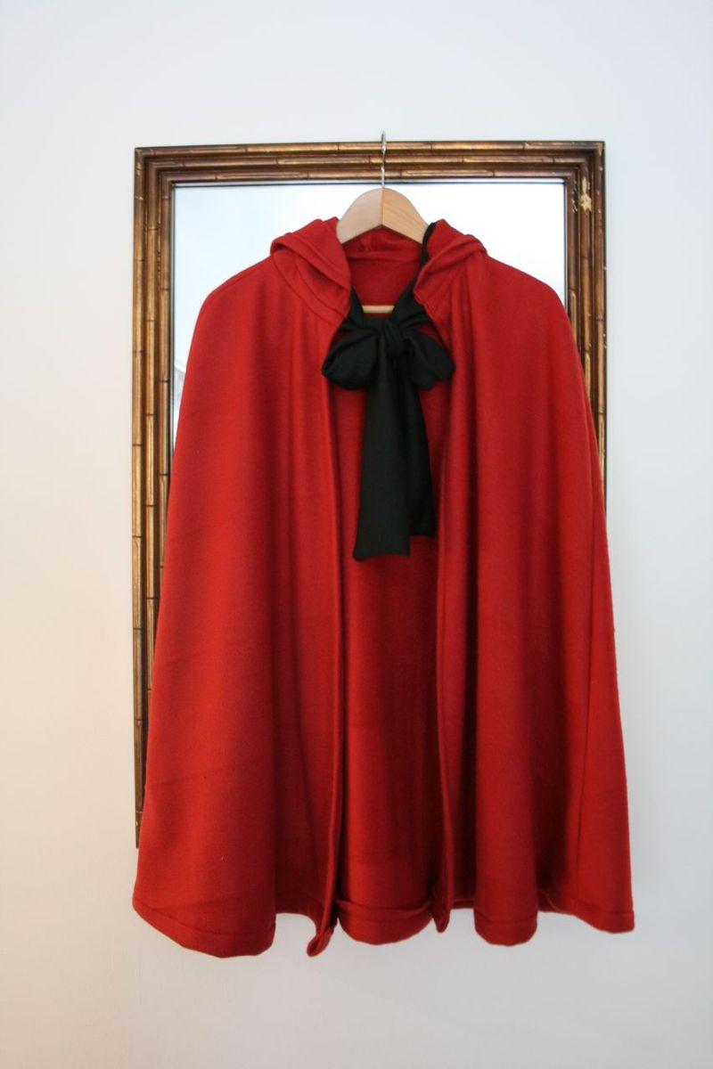 Riding hood cape