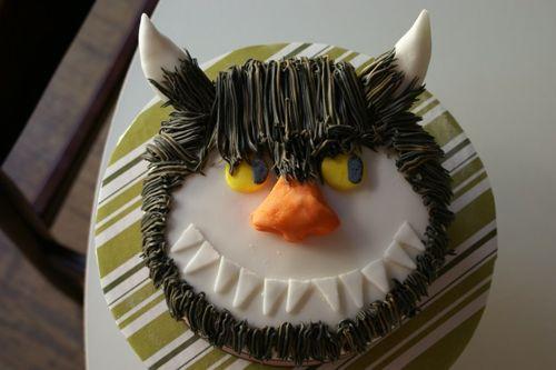 Wild things cake