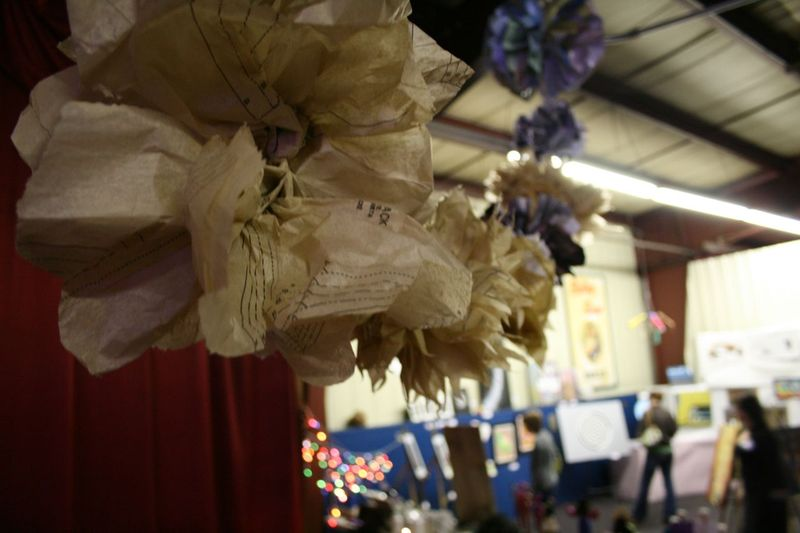 Shrinking violets decor