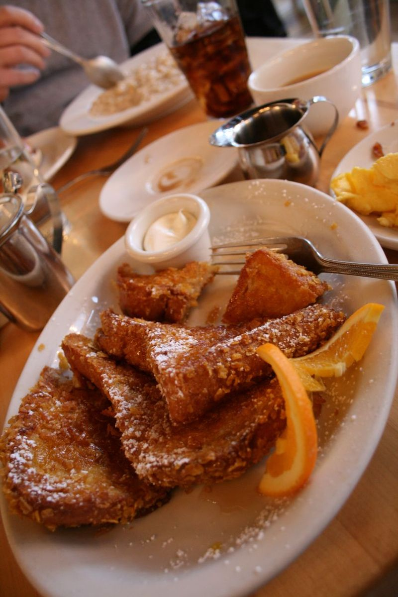 Corn flake French toast Mother's Bistro