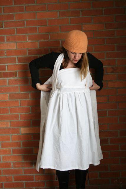 Henny penny apron wear 4