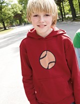 Mini boden baseball sweatshirt
