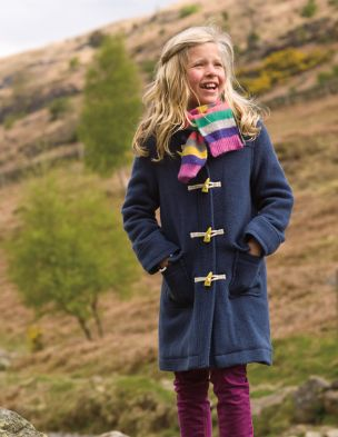 Mini boden duffel coat