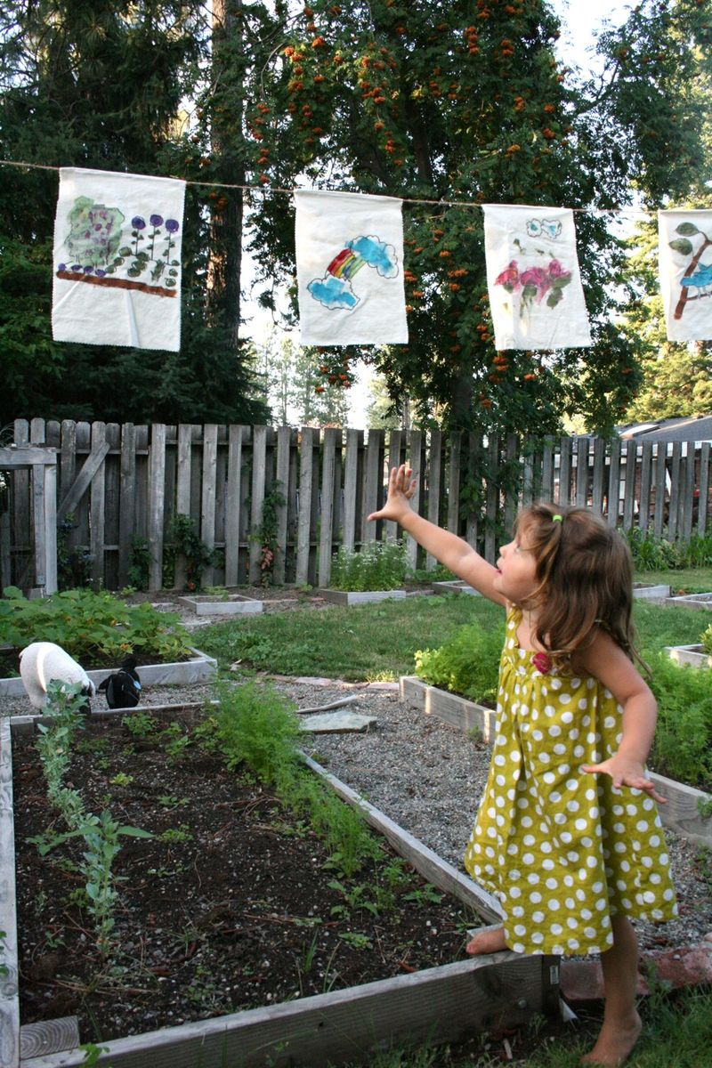 Garden flags 1
