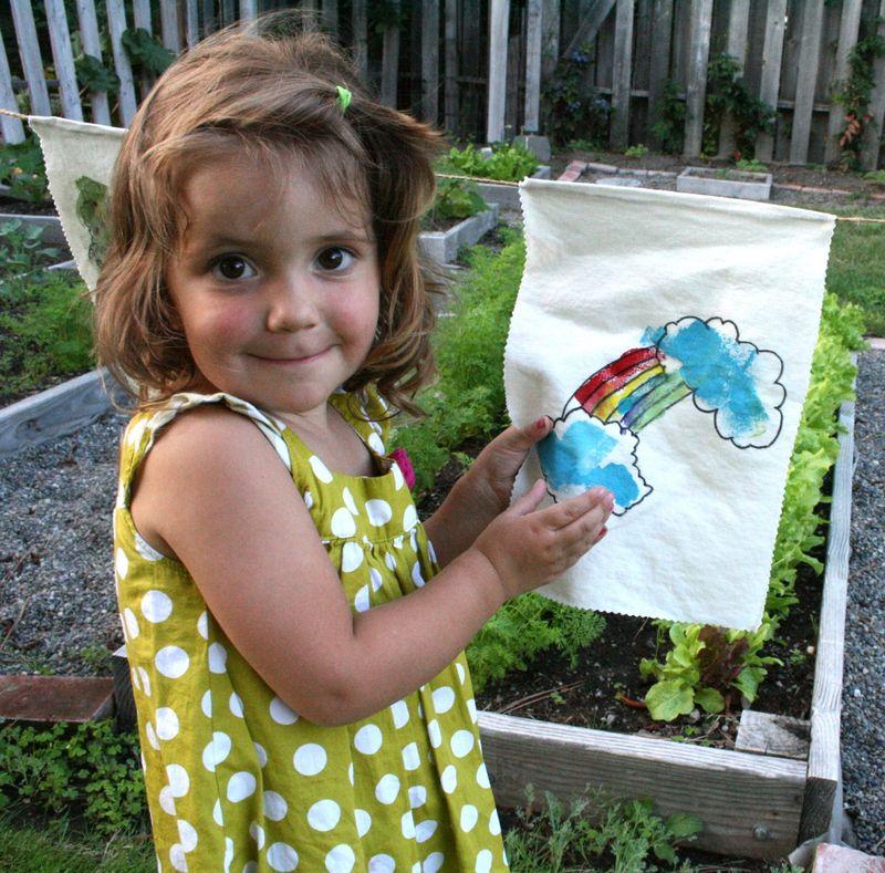Garden flags 7