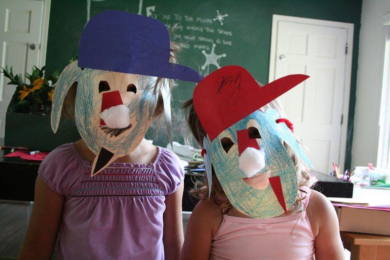 Otto mascot masks 2