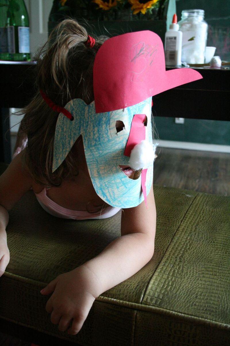 Otto mascot masks 1