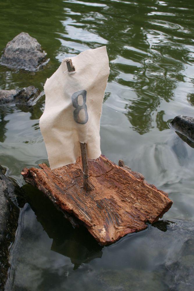 Bark boat