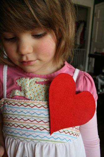 Heart badges