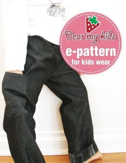 Reversible pants dmk