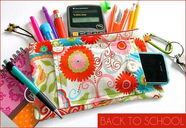 Pencil and cell pouch