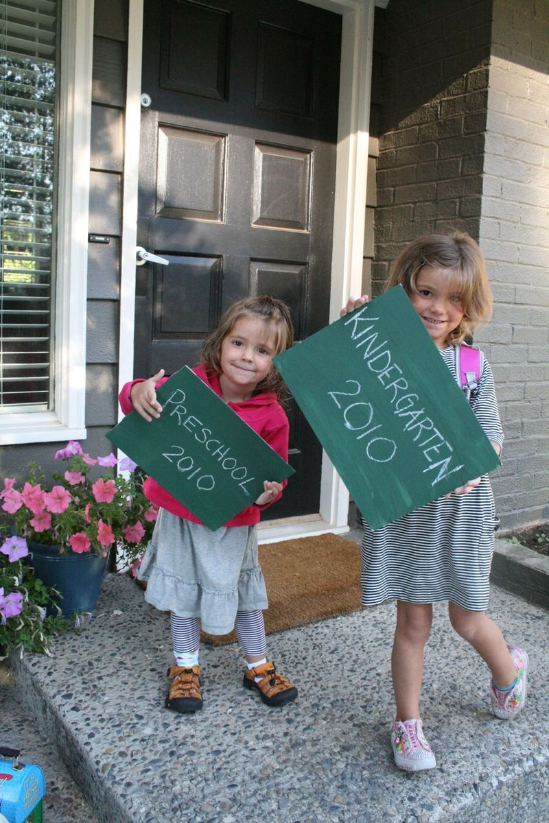 First day of school 5