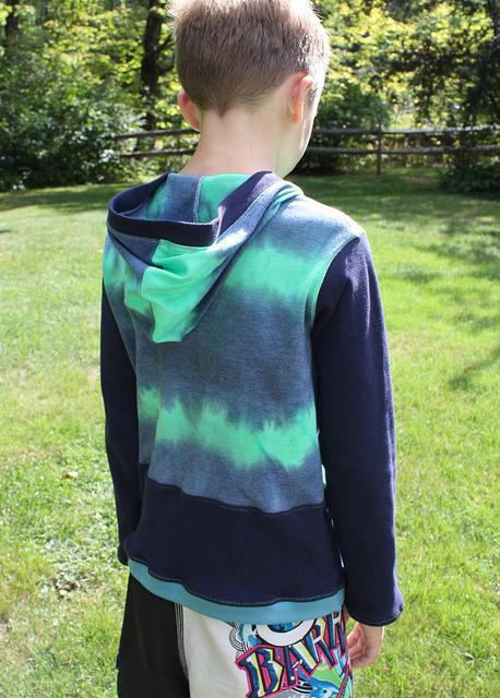 CraftyNWMom blue hoodie