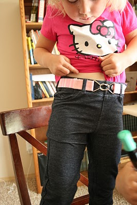 Charith pink belt