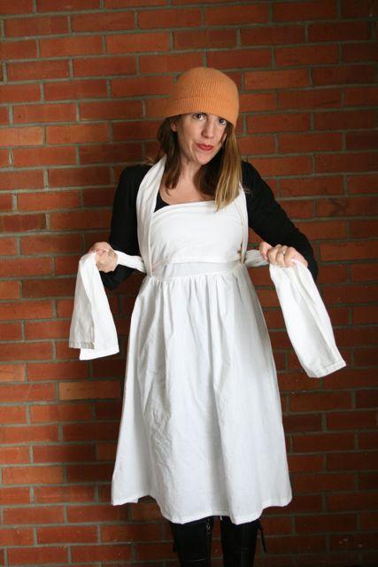 Henny penny apron wear 5