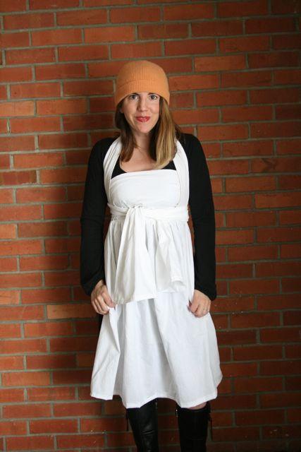 Henny penny apron wear 6