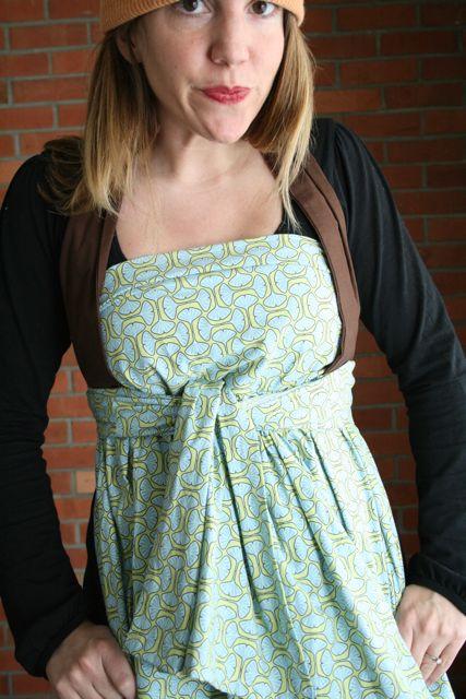 Henny penny apron wear 8