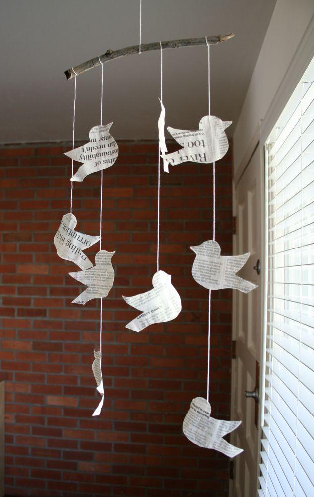 Bird mobile 1