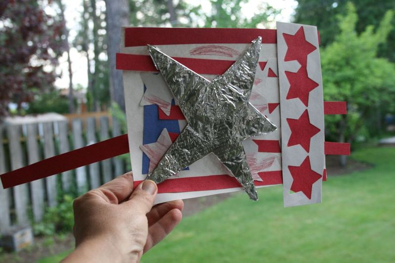 Us flag craft 3