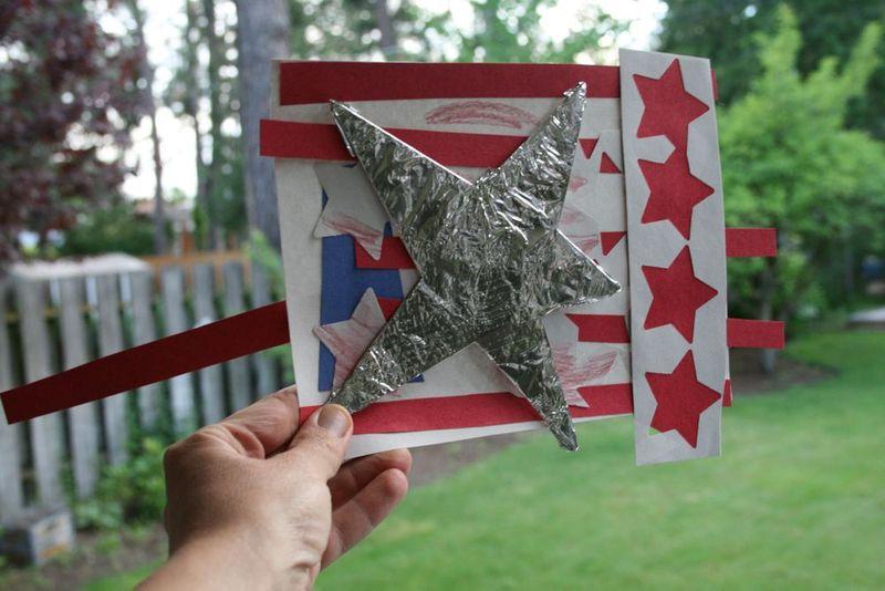 Us flag craft 3
